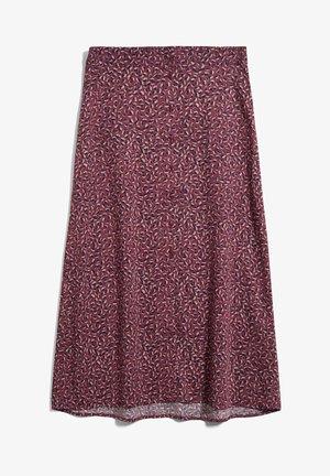 MADALINAA - A-line skirt - ruby red