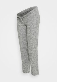 MLNEWJANNI LOUNGE PANTS - Trainingsbroek - light grey melange