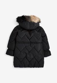 Next - Winter coat - black - 1