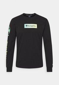 Champion - CREWNECK LONG SLEEVE  - Långärmad tröja - black - 5