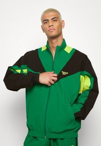 Reebok Classic - TWIN VECTOR - Veste de survêtement - green - 0