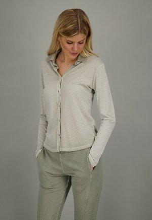 SOHO  - Button-down blouse - sage