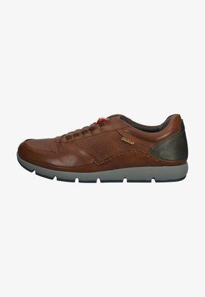 Sneakers laag - cuero
