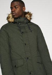 Jack & Jones - Winter coat - dark green melange - 4