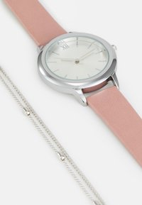 Even&Odd - SET - Watch - pink/silver-coloured - 4