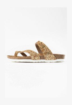 DIANE  - Sandaler m/ tåsplit - gold