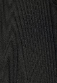Missguided - LONG SLEEVE CROP TOP  - Topper langermet - black - 5