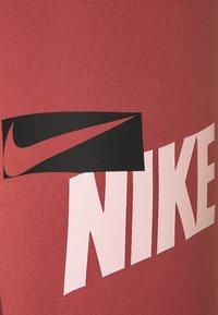 Nike Performance - ONE CROP - Tights - canyon rust/pink glaze/black - 4