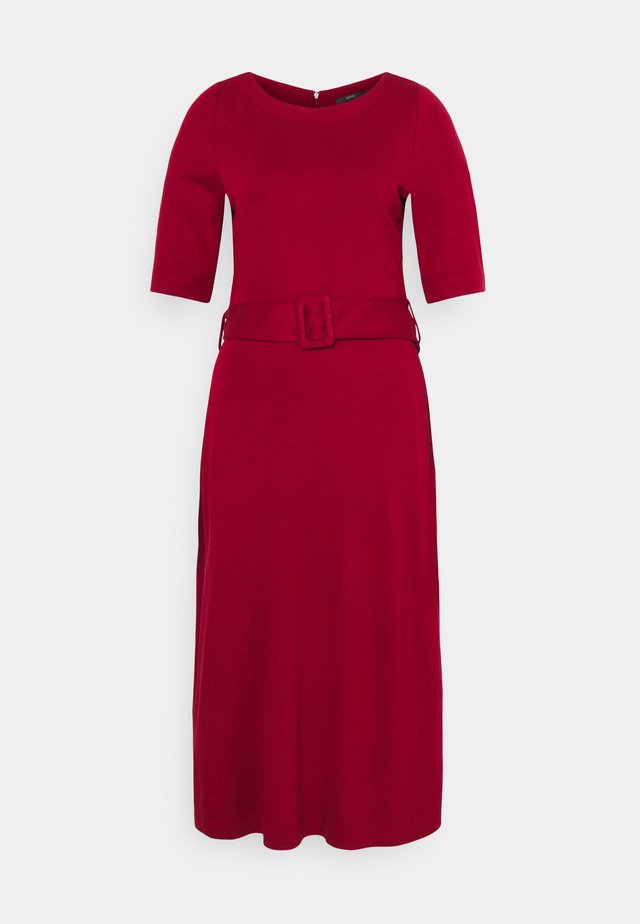 ICON DRESS - Vestito lungo - dark red