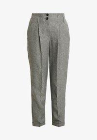 Dorothy Perkins Tall - SAVANNAH PEG LEG TROUSER - Pantalones - grey - 4