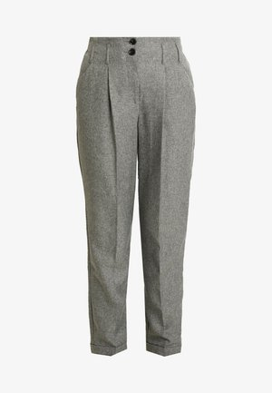 SAVANNAH PEG LEG TROUSER - Pantaloni - grey