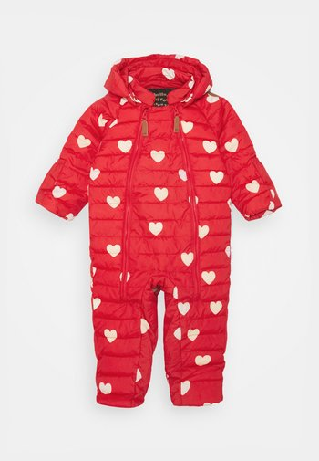 HEARTS BABY OVERALL
