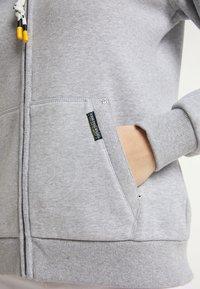 Schmuddelwedda - Zip-up sweatshirt - hellgrau melange - 3