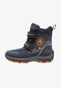 Kappa - RESCUE TEX - Winter boots - navy/orange - 1