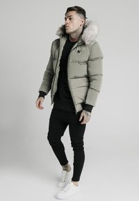 SIKSILK - DISTANCE JACKET - Winter jacket - khaki - 1
