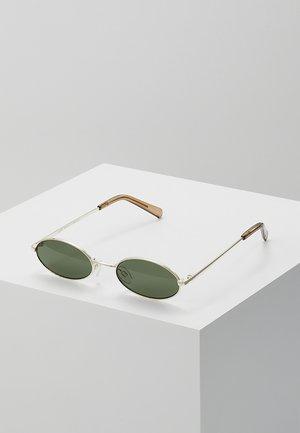 LOVE TRAIN - Sunglasses - bright gold