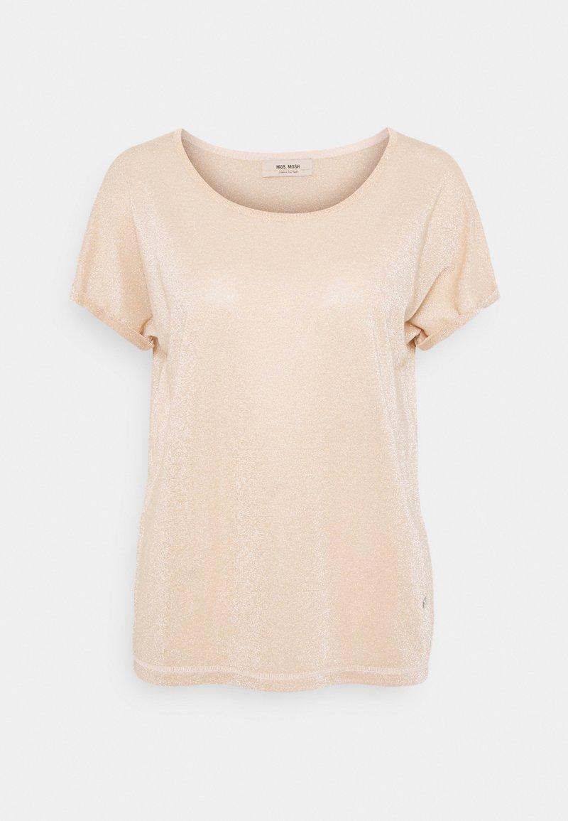 Mos Mosh - KAY TEE - Basic T-shirt - peach parfait