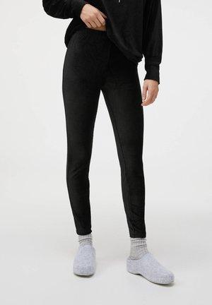 Nattøj bukser - black