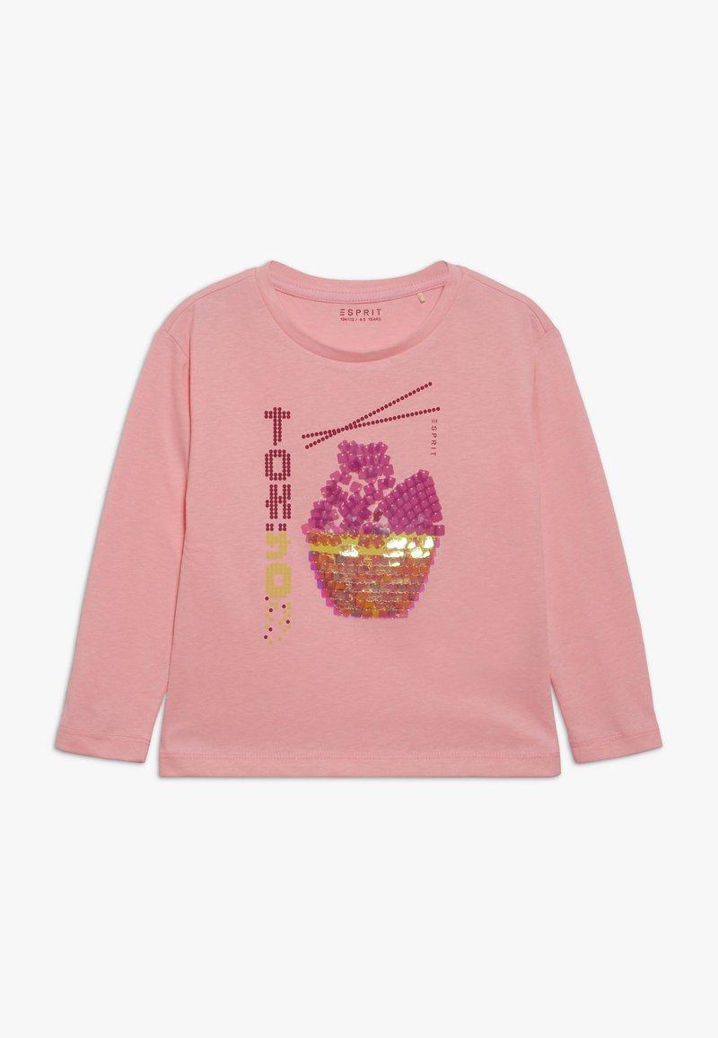 Esprit - TEE - Longsleeve - neon pink