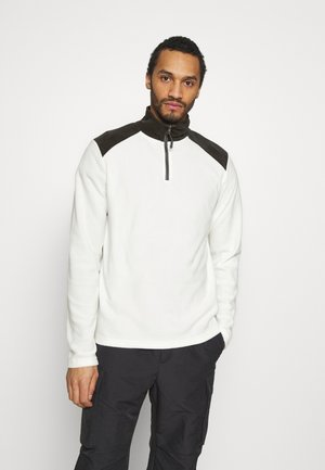 THERMAL - Fleecepullover - white/slate grey