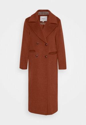 MARA - Classic coat - tobacco