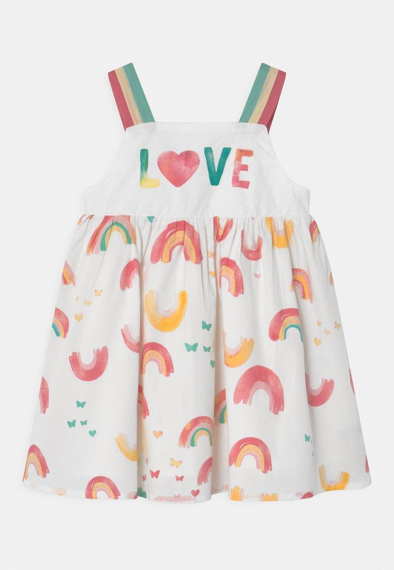 OVS - RAINBOW - Denní šaty - bright white