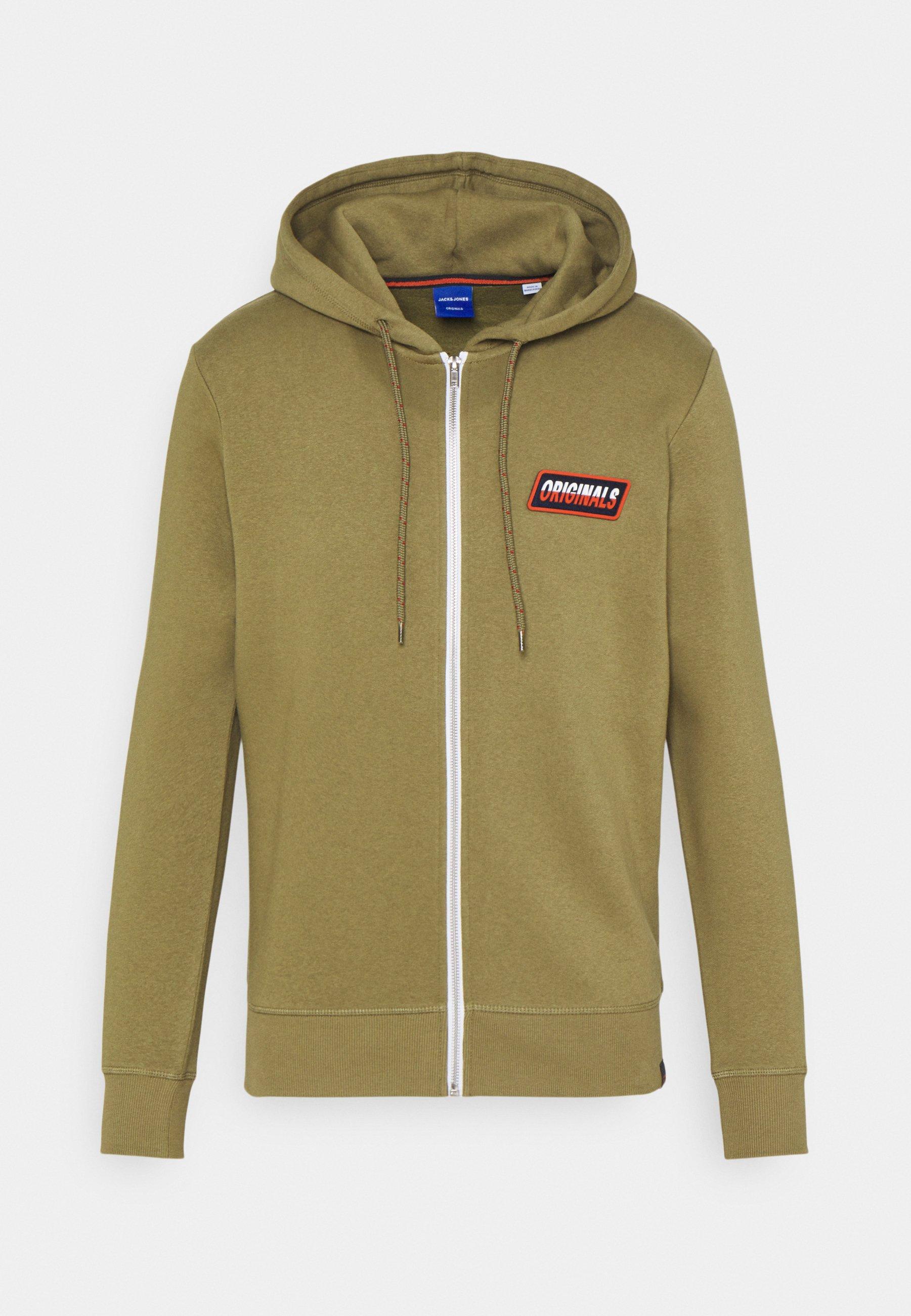 Men JORSWIRL ZIP HOOD - Zip-up sweatshirt