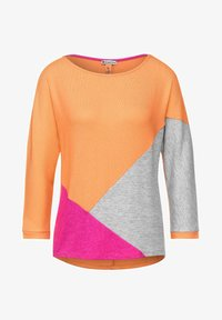 Street One - Long sleeved top - orange - 0
