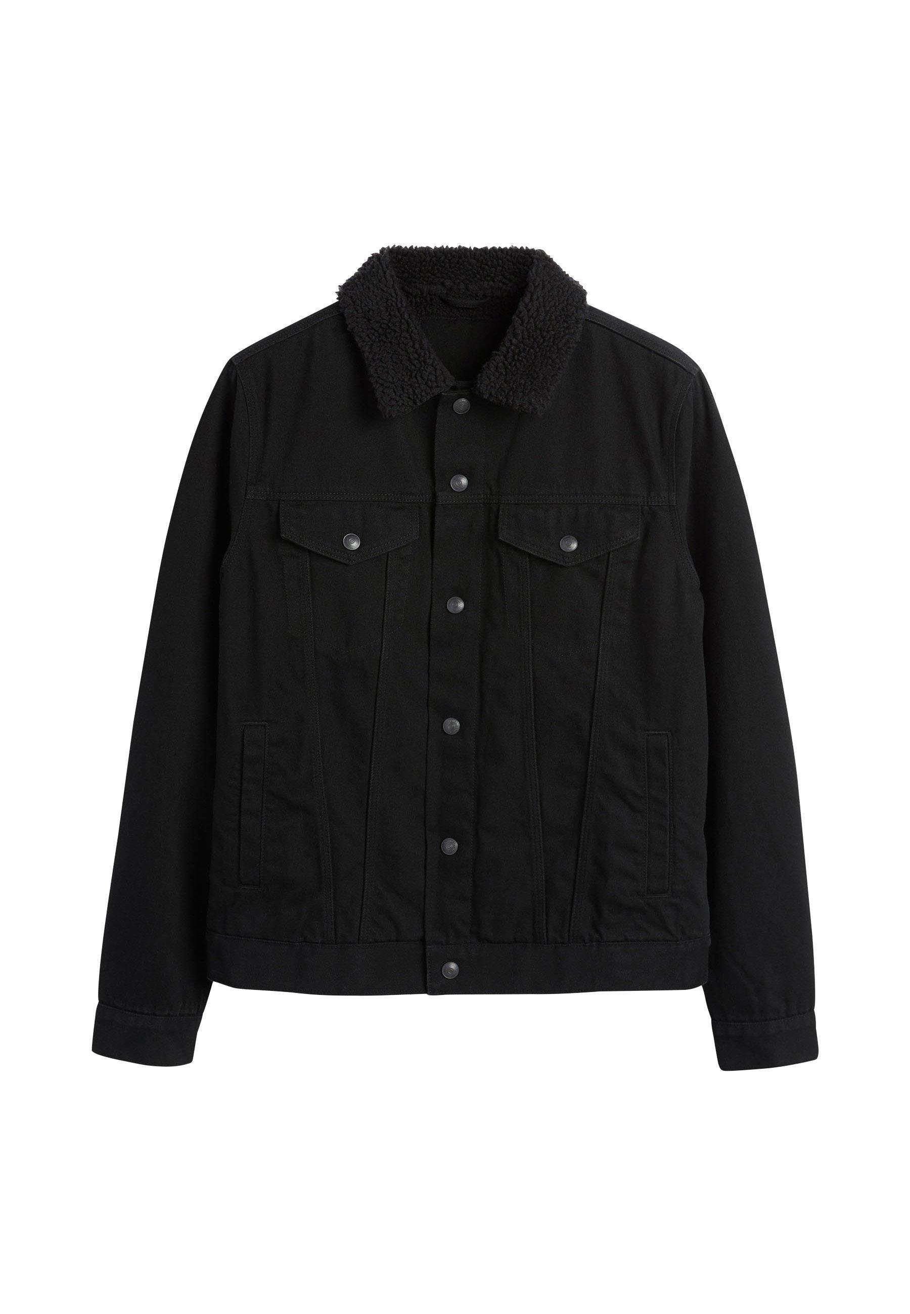 Uomo BORG COLLARED  - Giacca di jeans