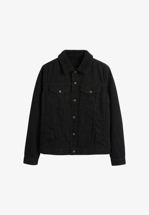 BORG COLLARED  - Džínová bunda - black