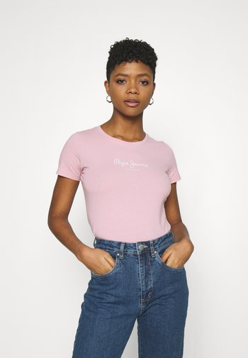 NEW VIRGINIA - Print T-shirt - pink