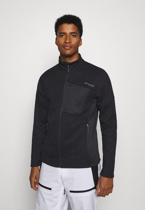 BANDIT HYBRID - Fleece jacket - black