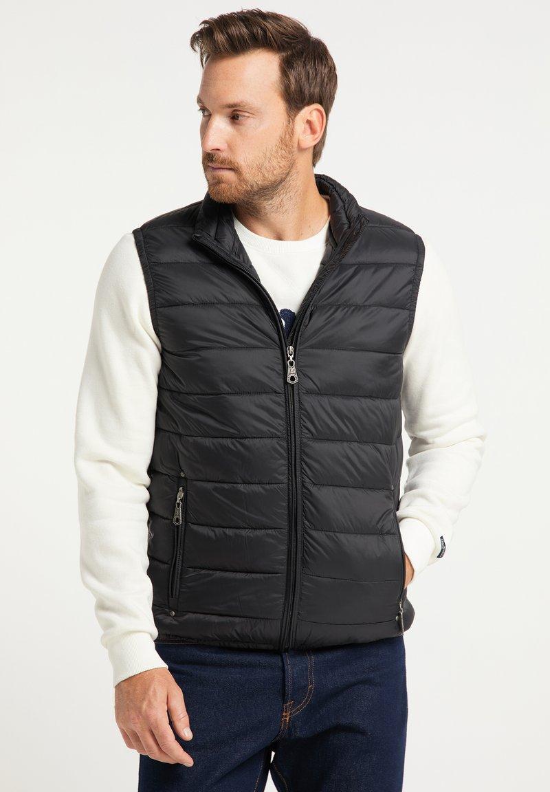 DreiMaster - STEPP - Waistcoat - schwarz