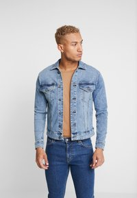 Only & Sons - ONSCOME TRUCKER - Kurtka jeansowa - blue denim - 0