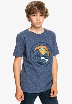 MOUNTAIN VIEW  - Print T-shirt - insignia blue heather