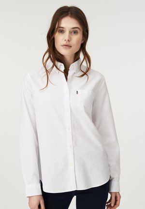 SARAH - Button-down blouse - white