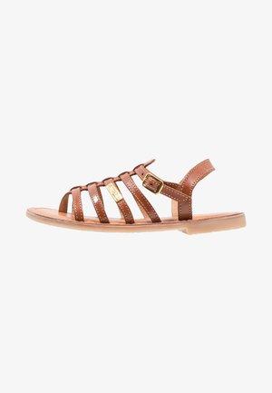 HIRSON - Sandály s odděleným palcem - tan