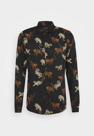 CHEMISE - Shirt - black / gold
