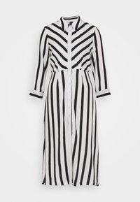 YAS - YASSAVANNA  - Shirt dress - black/white - 4