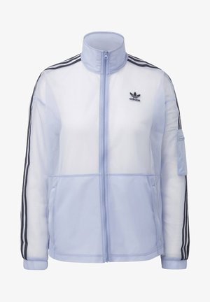 MESH TRACK TOP - Training jacket - blue