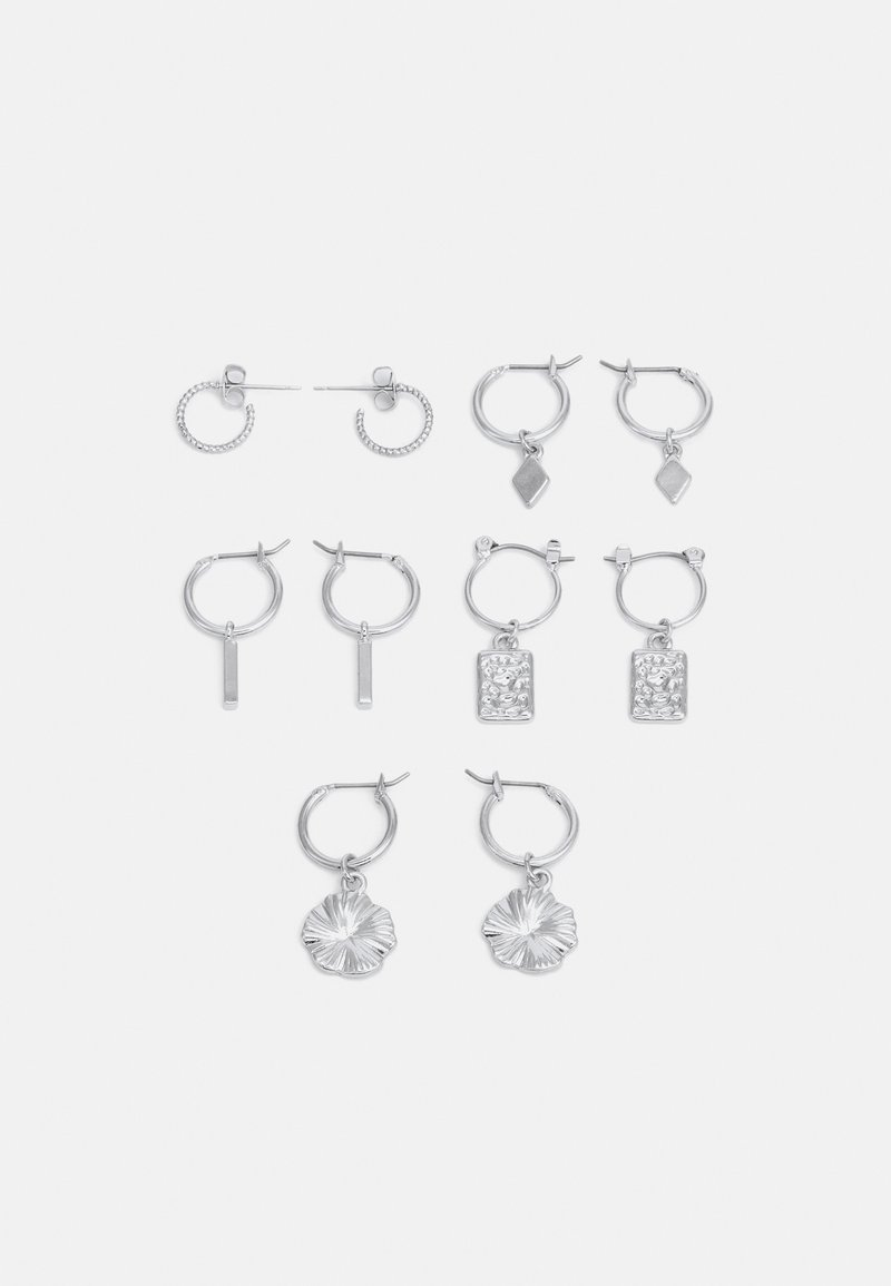Fire & Glory - EARRINGS 5 PACK - Øredobber - silver-coloured
