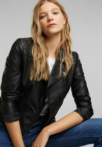 edc by Esprit - Faux leather jacket - black - 3
