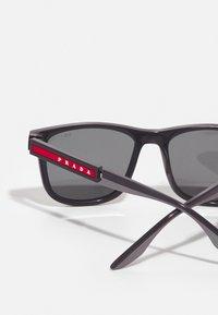Prada Linea Rossa - Sunglasses - grey/dark grey - 2