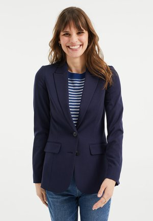 REGULAR FIT - Blazer - dark blue
