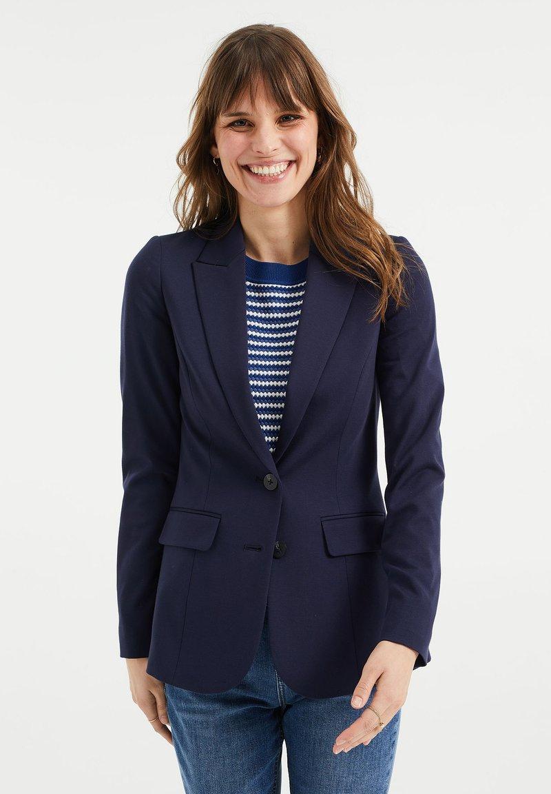 WE Fashion - REGULAR FIT - Sportovní sako - dark blue