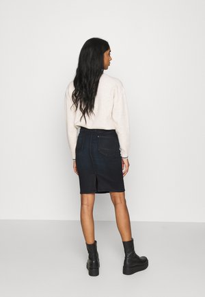 LYNN BIKER SLIM - Pencil skirt - worn in nightfall