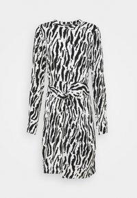 Bruuns Bazaar - BELL BINA DRESS - Day dress - black/white - 4