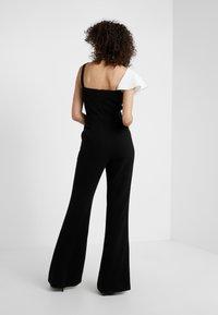 Rachel Zoe - JANE - Overall / Jumpsuit /Buksedragter - black/ecru - 2