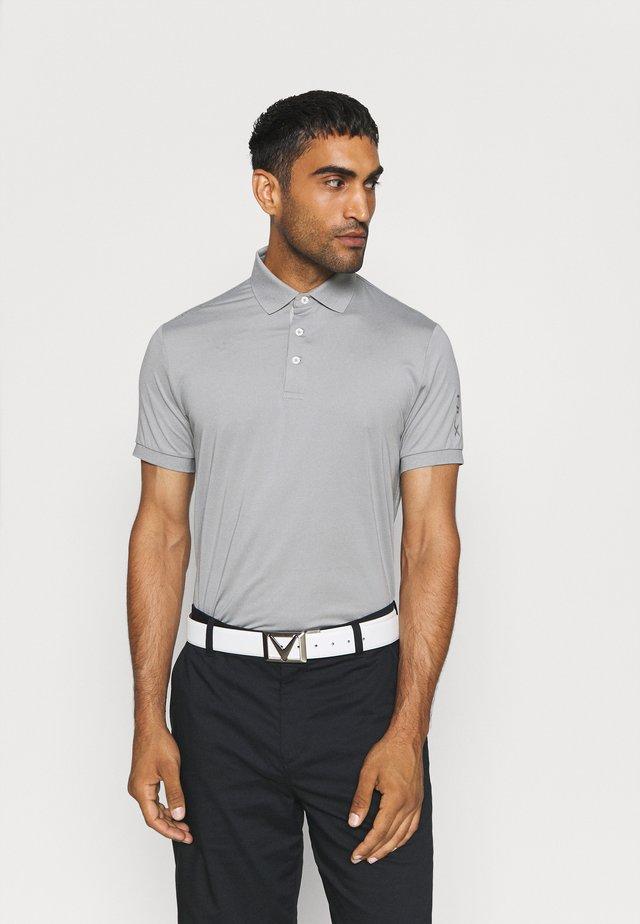 SHORT SLEEVE - Sports shirt - light grey heather