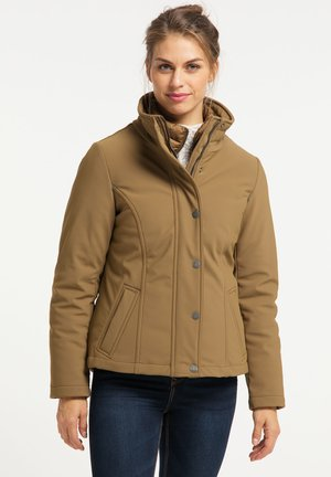 Outdoor jacket - dunkelbeige